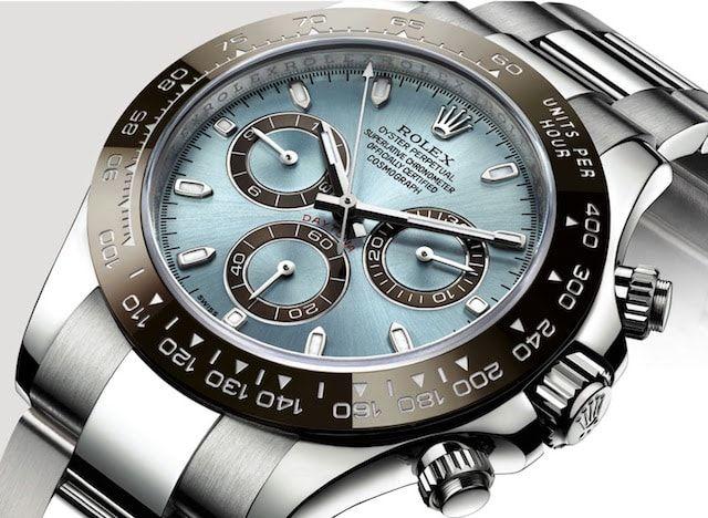Platinum Rolex