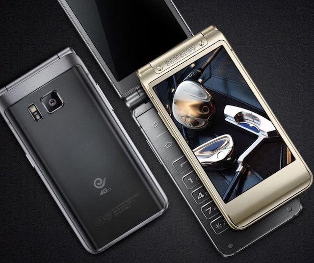 Samsung W2016 - люксовый смартфон-раскладушка