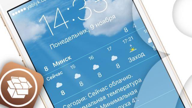 WeatherBoard 2 для iOS 9
