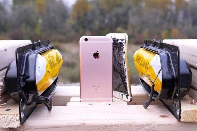 подушки безопасности против iPhone 6s