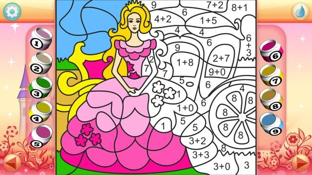 color princess ipad