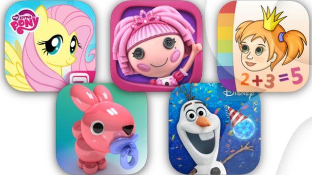 Игры для девочек для iPhone и iPad