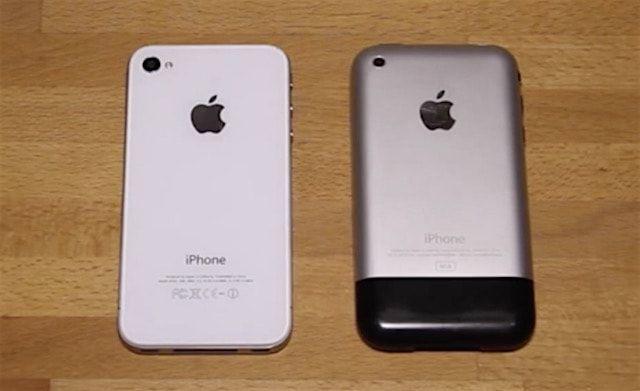 iphone 2g iphone 4