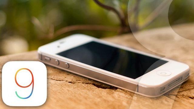 iphone 4s на ios 9