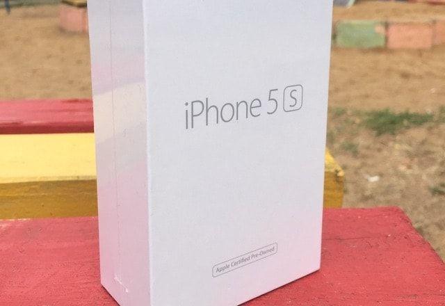 востановленный iphone 5s