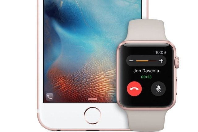 Apple Watch iPhone 6s