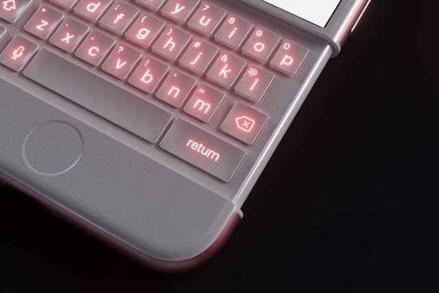 iPhone 6k - концепт яблочного смартфона с выдвижной QWERTY-клавиатурой