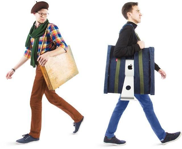 «Айвоська» - сумка-чехол для переноски iMac