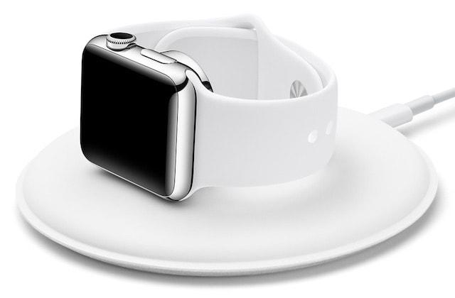 Apple выпустила док-станцию для зарядки Apple Watch с магнитным креплением