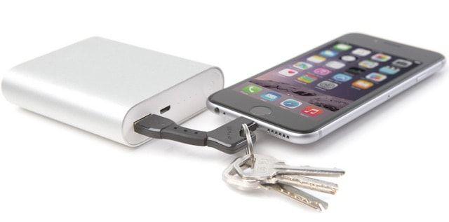 nomadkey-handy usb charger keychain