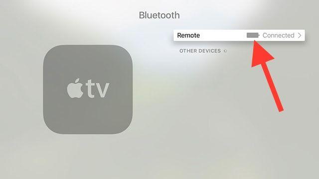 Как проверить уровень заряда пульта ДУ Apple TV 4G
