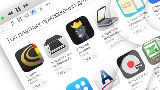 Топ платных приложений в App Store