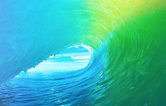 wave ocean ios wallpaper