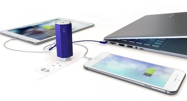 Zolt – заряжайте iPhone, iPad и MacBook одновременно от одного зарядного устройства
