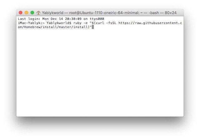 Как создавать QR-коды в Терминале на Mac OS X