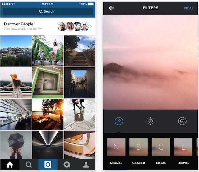 Instagram - популярная социальная фотосеть и редактор