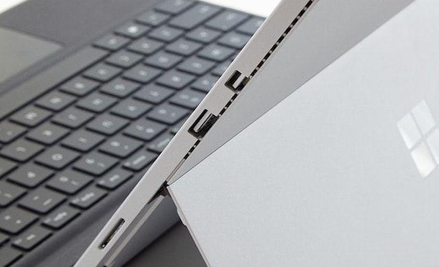 Microsoft Surface Pro 4 interface