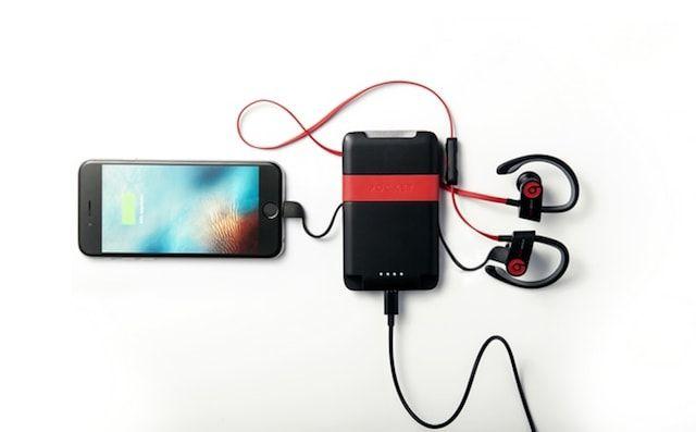 Phorce Pocket - кошелек и внешняя батарея в одном флаконе