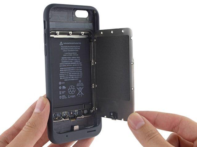 Разборка Smart Battery Case