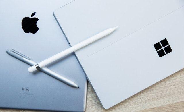 Сравнение Surface Pen и Apple Pencil
