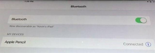 Как подключить Apple Pencil к iPad Pro