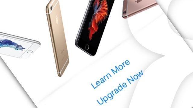 Apple предлагает обновить телефон владельцам старых iPhone