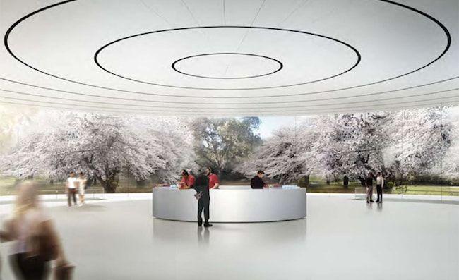 конференц-зал Apple