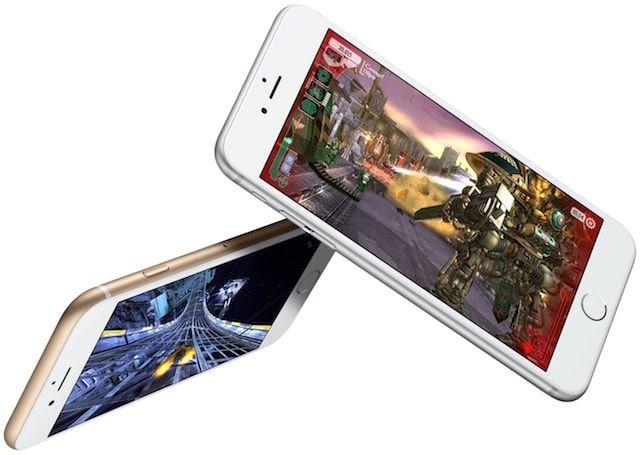 Игры с поддержкой 3d в iPhone 6s