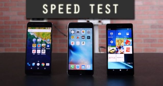 Тест на быстродействие: iPhone 6s Plus против Lumia 950 XL и Nexus 6P