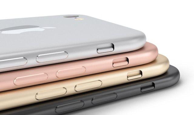 iPhone 7 концепт все цвета