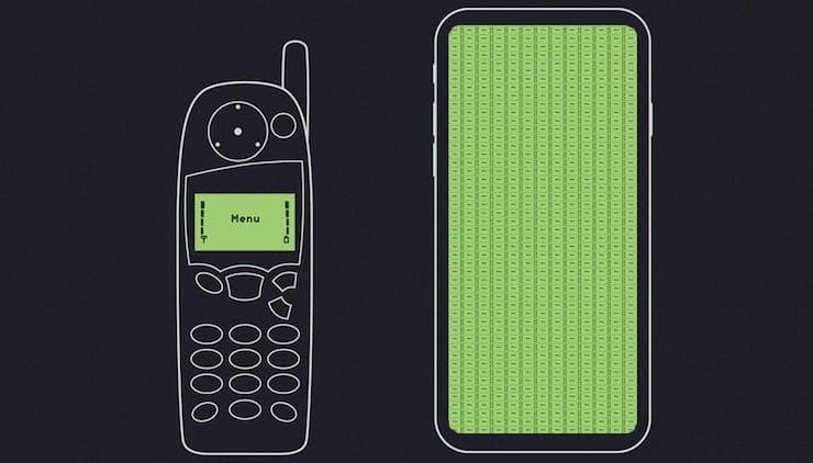Дисплей iPhone X способен вместить 639 экранов Nokia 5110