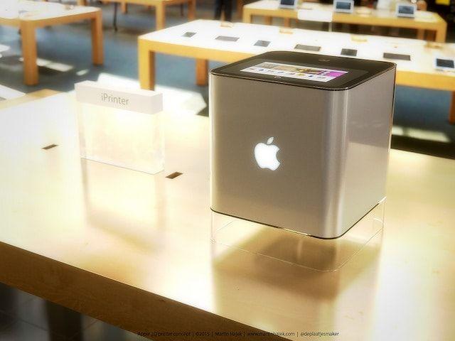 iPrinter - концепт 3D-принтера от Apple