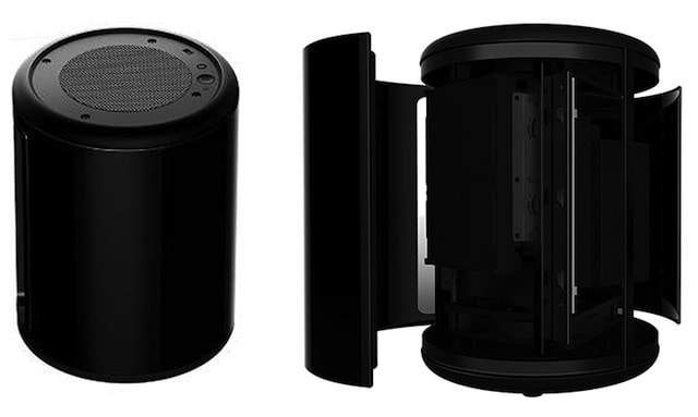 itc black drum KT PI314 корпус для ПК с дизайном Mac Pro
