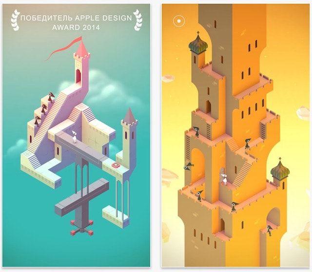 Игра Monument Valley для iPhone и iPad