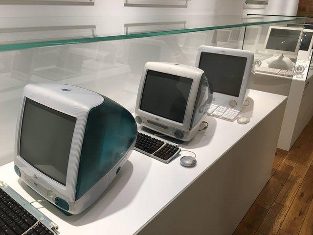 Первые компьютеры imac