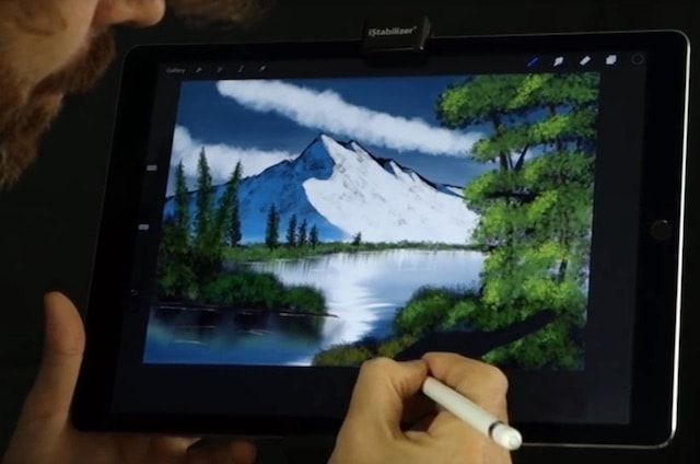 рисование на iPad с Pencil