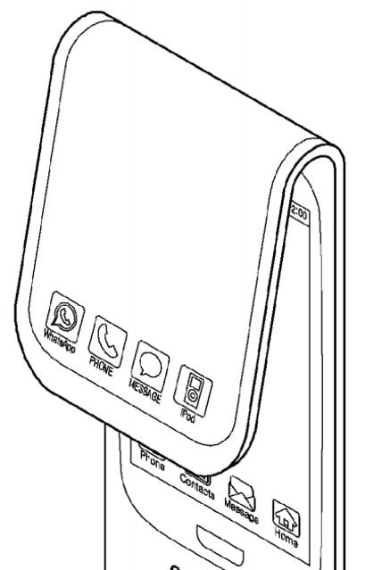 samsung patent ipod