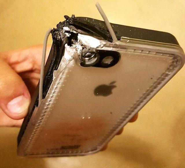 iPhone спас от пули
