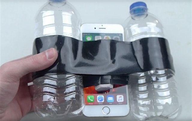испытуемый iPhone 6s после взрыва натрия