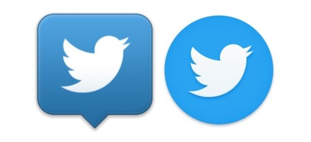 Логотипы Твиттер для Mac OS X