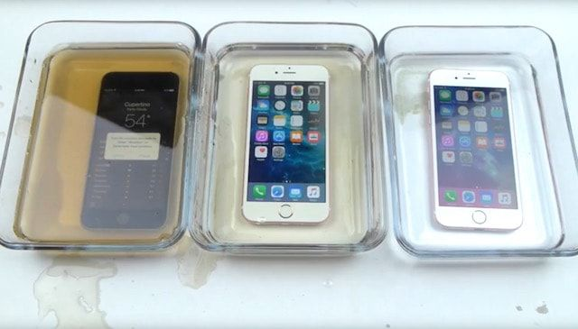 водонепроницаемость iPhone 6s