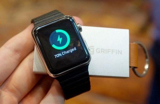 Griffin Travel Power Bank - брелок-зарядное для Apple Watch