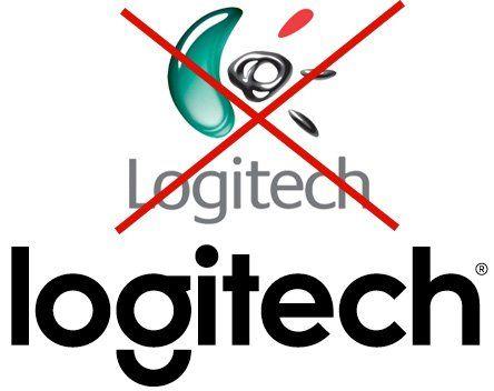 Logitech новый логотип