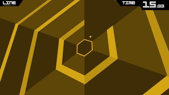 Хардкорная аркада Super Hexagon для iPhone и iPad