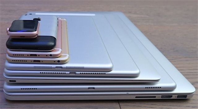 Все устройства Apple