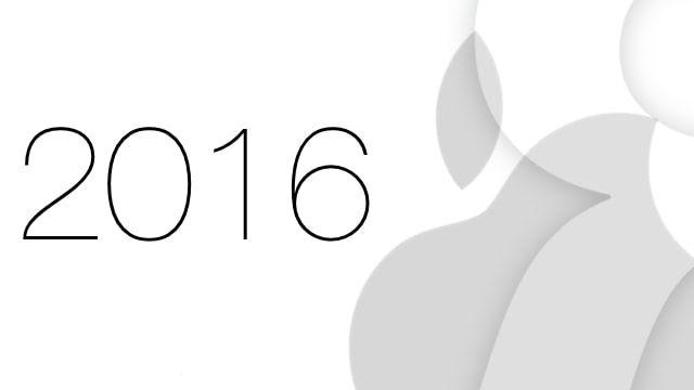 apple в 2016 году