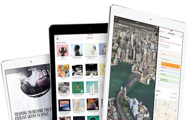 iPad Pro, iPad Air 2, iPad mini
