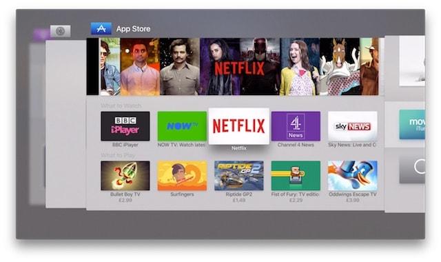 Apple TV 4g - новая многозадачность