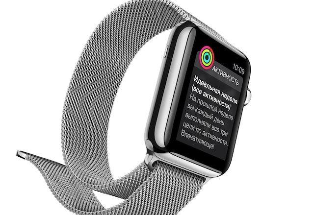 apple watch для спорта и здоровья