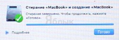 Форматирование Mac